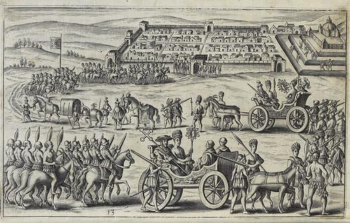006- Desfile de españoles y peruanos en el siglo XV