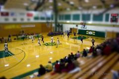 Miniature Players (gotbob) Tags: college basketball photoshop canon fcc community fake mini mens frederick tiltshift slidr bobcarney