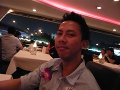 Arief's Birthday cruise dinner in BKK, 2008 (Tomorrow is another DAUCTER) Tags: bangkok chaophrayariver