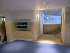 The German Hospital (stevecadman) Tags: brick london architecture hospital thirties 1930s interior moderne flats c20 20thcentury 30s twentiethcentury c20society c20societytour burnettaitandlorne 231108burnettaitlorne interwarera