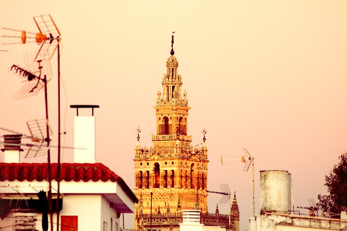 The Giralda Tower from Triana Town
