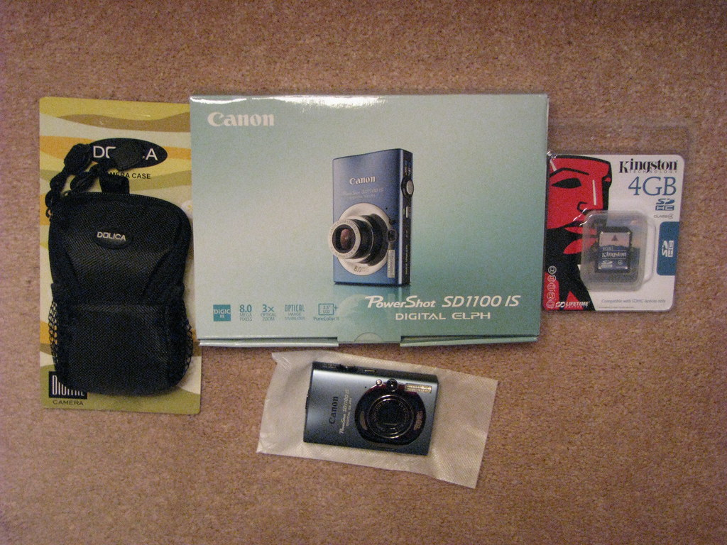 My new camera and accessories
