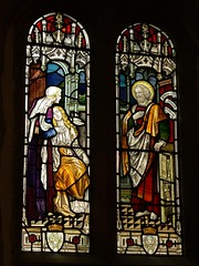 North chancel window St. Margaret - Wolston