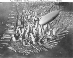 USS Akron over NYC (lazzo51) Tags: aviation science usnavy blimps airships zeppelins luftschiff dirigibles ussakron zrs4