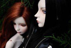 Ashlar & Rowan 56 - DOT Lahoo & Shall (-Poison Girl-) Tags: boy nature girl couple doll witch gothic goth sd bjd dollfie superdollfie dod rowan mayfair shall dreamofdoll balljointeddoll ashlar lahoo dotshall dotlahoo blackfer dodshall dodlahoo