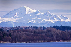 Mount Baker, Bellingham, Washington, USA, Elev...
