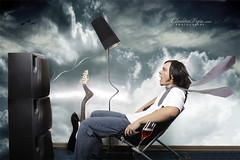 OUT LOUD - License on Getty (claudiaveja) Tags: sky photoshop photography force power stock manipulation images explore sound license getty claudia strong 111 concept striking transylvania veja 129 gettyimages cluj royaltyfree 079 rightsmanaged explored claudiaveja rightmanaged
