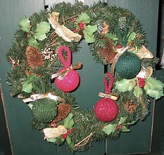 Balls on a wreath