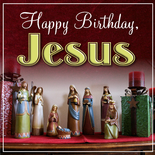 1208 Happy Birthday Jesus