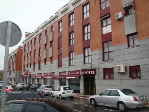 Vista exterior del Hotel Restaurante