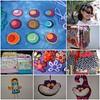 Meus últimos trabalhos (Jardim Secreto - Danny) Tags: tiara alice flor felt feltro bolsa arco tictac presilha necessaire poá gatodecheshire