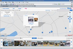 Flickr の地図