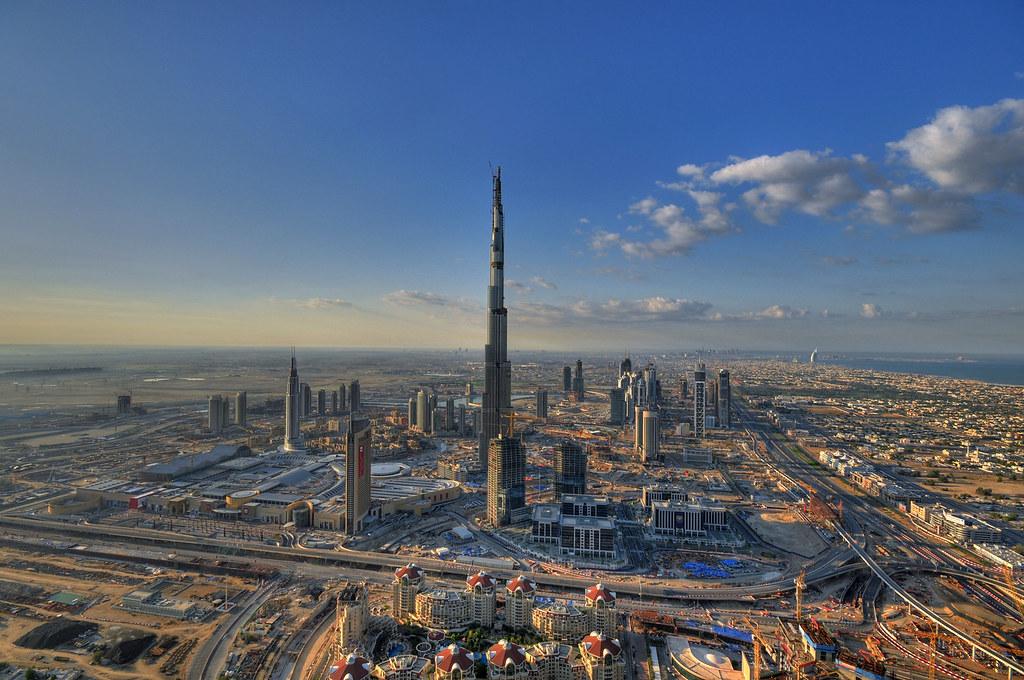 burj dubai edificio alto el edificio ms alto del mundo