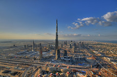 Burj Dubai - The World's Tallest Tower (daveandmairi) Tags: building tower amazing architechture nikon dubai technology best worlds hdr biggest highest tallest tallestbuilding d300 burjdubai photomatix worldsbestnikonshot top20travelpix visipix