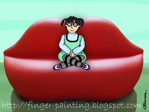 lips chair
