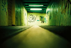 low down a dirty (lomokev) Tags: green night underpass subway graffiti lomo lca xpro lomography crossprocessed xprocess brighton low ground tunnel lomolca scum agfa jessops100asaslidefilm agfaprecisa scummy lomograph agfaprecisa100 precisa ratseyeview jessopsslidefilm file:name=081209lomolcaa11 roll:name=081209lomolcaa