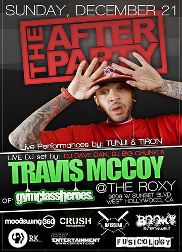 Travis McCoy 12/21