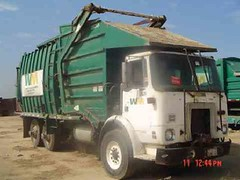 """Able Body """"Broad-Radius"""" FL (westcoaststeel) Tags: classic truck garbage front refuse loader"""