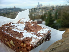 Brownie from Sweet & Savory, Seattle