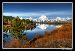 What a Difference a Day Makes - II (James Neeley) Tags: mountains nature landscape wyoming grandtetons tetons hdr grandtetonnationalpark oxbowbend 5xp superaplus aplusphoto jamesneeley gtmp