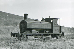 Andrew Barclay 1146 NCB Nellie No 62 18 April 1965 (pondhopper1) Tags: blackandwhite white black industrial steam railways ncb uksteam