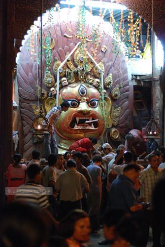 Indra Jatra - Swet Bhairab