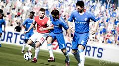 FIFA 12 - Arshavin protecting the ball