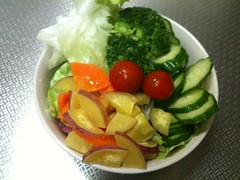 朝食サラダ(2011/6/14)