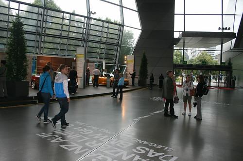 Halle - BMW Welt München