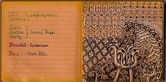 art journal zia tangle pentel zentangle zendoodle daycraft zentangleinspiredart