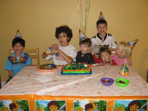 Jacob, Joey, Samuel, Luke, Jackson, Polina