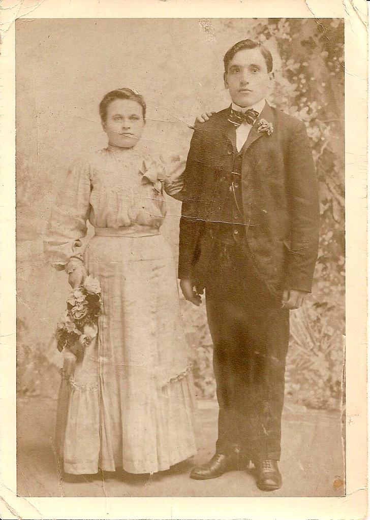Grandma's Parents' Wedding Photo