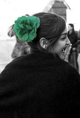 ...fior fior di risate (fr@ncesc@rom@n@) Tags: woman flower verde green donna wb olympus loveit fiore carnevale fra risate carnevaloneliberato francescaromana diamondclassphotographer flickrdiamond diamondaward poggiomerteto