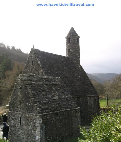 St. Kevin's Kitchen, Glendalough, Ireland
