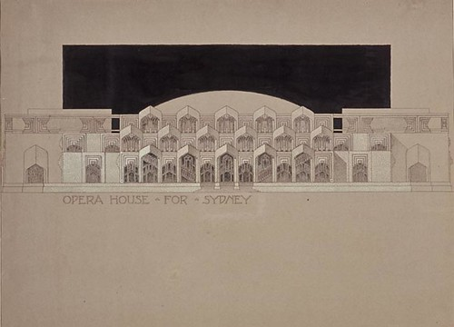 Opera House for Sydney 1938