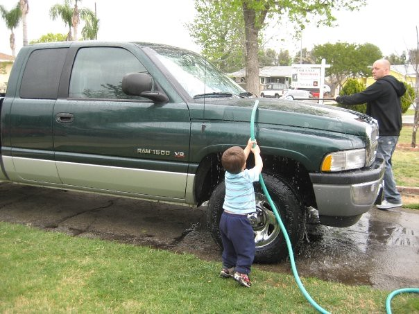 2001 playing water truck fun kid cab quad hose dodge ram 1500 2wd
