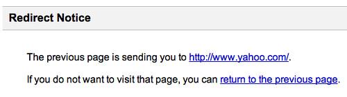 Google Redirect Bug in Firefox 3 b5