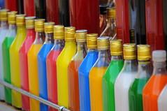 Soft drinks stall, Chowpatty Beach - Mumbai