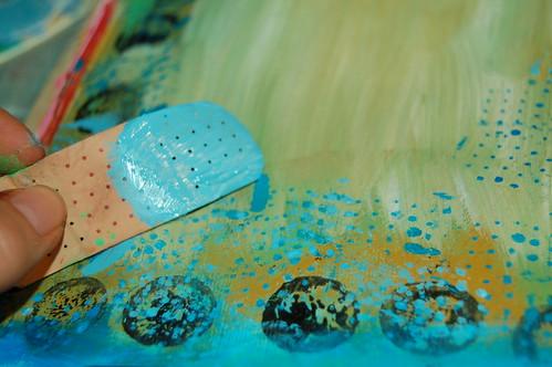 Plaster stencil