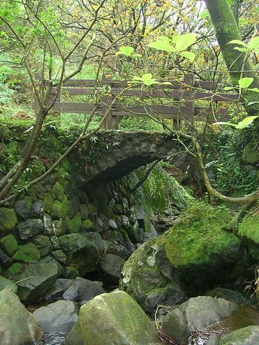 Bridge over a small stream