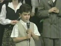 Little Kevin singing (peanutrodgers) Tags: jonasbrothers nickjonas littlenickjonas nickjonassinging babynickjonas