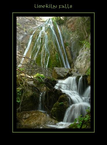 Limekiln Falls Framed
