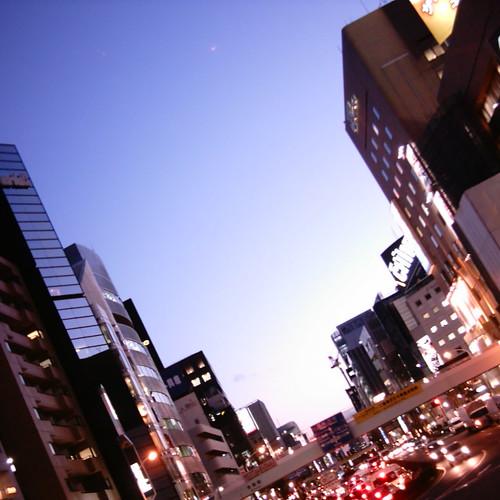 【写真】Night view @ Gaienmae