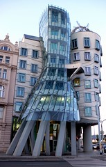 Dancing Building (Matei D.) Tags: building tourism architecture prague tourist czechrepublic attraction dancingbuilding