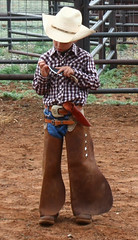 Just like Dad (Outdoor Exposure by Denise) Tags: ranch cowboys kids ranching batwings supershot mywinners yourpreferredpicture