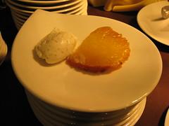 Pierre Hermé: Ananas rôti à la vanille de Tahiti, crème glacée à la noix de coco grilée