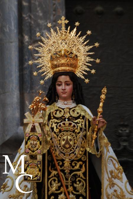 Nuestra Señora del Carmen Coronada. Murcia.