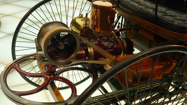 Benz Patent-Motorwagen, #1  1886