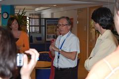 Dieter Zippert, organiser of the seminar (Jakub Kubista) Tags: dieter malm zippert eures