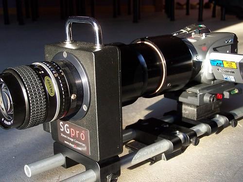 Canon HV20 & SG Pro rig